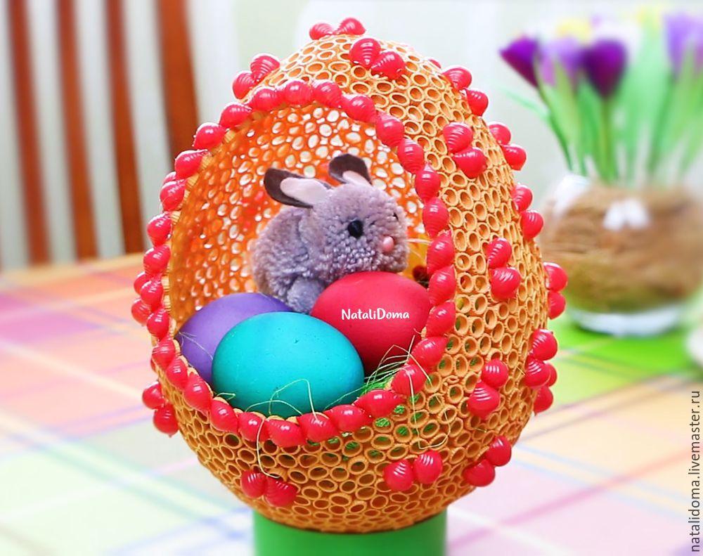 Пасхальное яйцо своими руками бумага фото 489