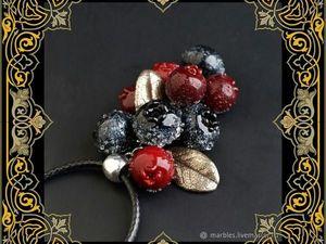 Розыгрыш замечательного лемпворк кулона от Натальи Бидюковой. Ярмарка Мастеров - ручная работа, handmade.