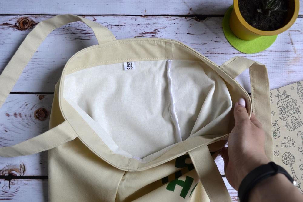 сумка летняя, роспись по ткани