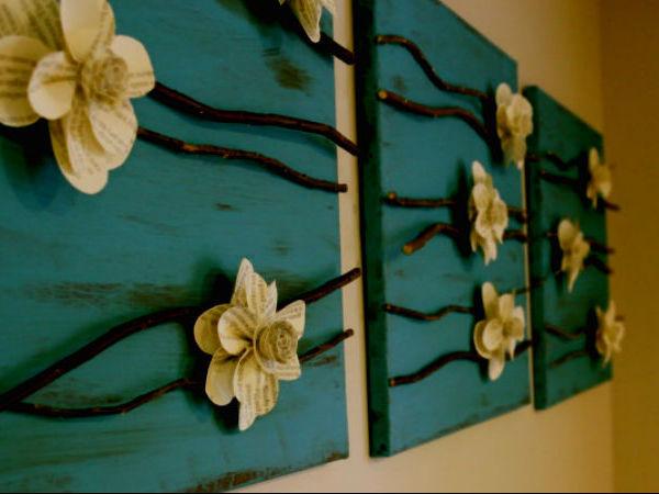 Необычные элементы декора, изготовленные из веток | Ярмарка Мастеров - ручная работа, handmade
