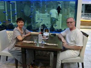 Как рыбы подсматривают за людьми, когда те едят. Ярмарка Мастеров - ручная работа, handmade.