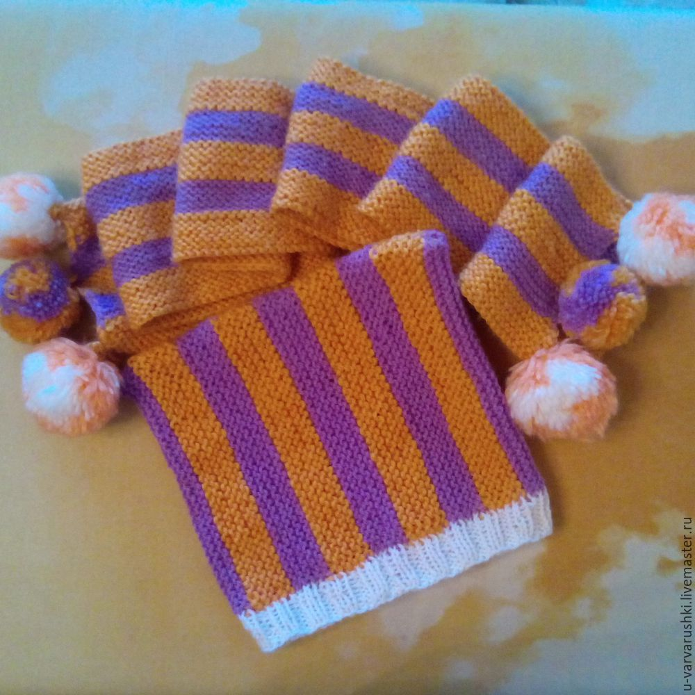 шапочка, вязание спицами
