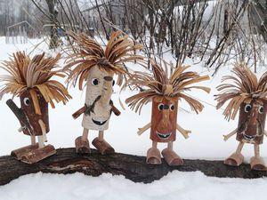 Деревянный Леший   Ярмарка Мастеров - ручная работа, handmade