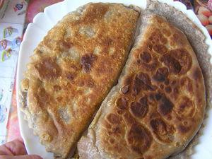 Чебуреки-пирожки  ,  тесто  с   цельнозерновой  мукой  и  льняной | Ярмарка Мастеров - ручная работа, handmade