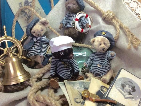 Мишки , лисики, феньки морской команды. | Ярмарка Мастеров - ручная работа, handmade