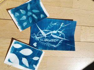 Наборы Цианотипии для радостного творчества. Ярмарка Мастеров - ручная работа, handmade.