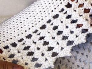 Видеоурок: вяжем простую кайму для юбки крючком. Ярмарка Мастеров - ручная работа, handmade.