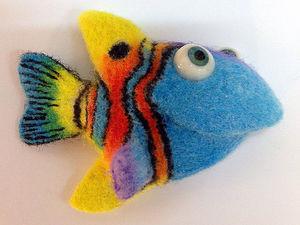 Коралловые рыбки (техника SPOT)   Ярмарка Мастеров - ручная работа, handmade