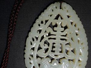 Нефрит, как символ Поднебесной. | Ярмарка Мастеров - ручная работа, handmade
