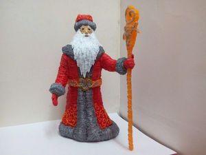 Создаем 3D-ручкой объёмного Деда Мороза. Часть 1. Ярмарка Мастеров - ручная работа, handmade.