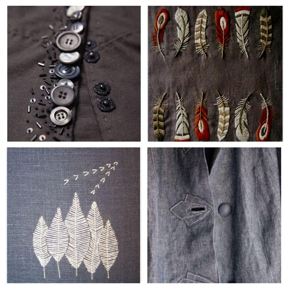 Детали решают все, или Превращаем обычную одежду в арт-объект, фото № 25