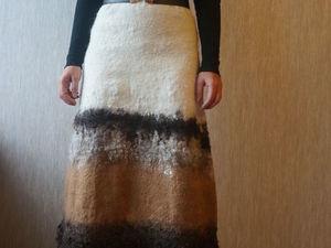 Скидки на валяные юбки 20 %. Ярмарка Мастеров - ручная работа, handmade.