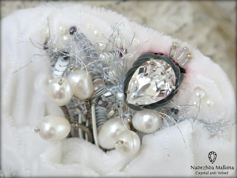 вышитые украшения, свадебные украшения
