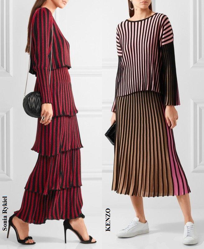 мода 2017, вяжем свитер
