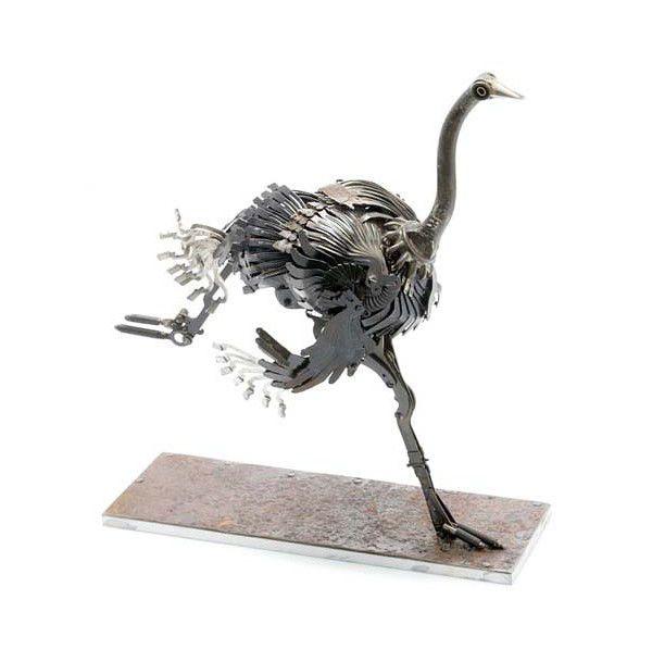 Металлически скульптуры Эдуарда Мартине, фото № 9