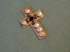 Фотоотчет о мастер-классе по созданию кулона из листовой меди. Занятие №1. Ярмарка Мастеров - ручная работа, handmade.