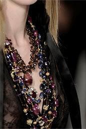 Модные украшения, бижутерия, аксессуары Осень, Зима 2010 Фото. Модные тенденции