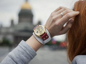 Внимание на модели прозрачных часов 2в1. Ярмарка Мастеров - ручная работа, handmade.