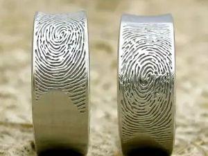 Как снять отпечаток пальца для обручального кольца. Ярмарка Мастеров - ручная работа, handmade.