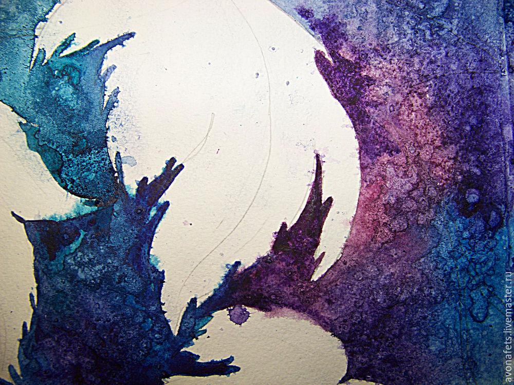 Осенний мастер-класс: акварель по-мокрому, фото № 10