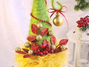 Елочка-топотушка в Золотом участвует в конкурсе. Ярмарка Мастеров - ручная работа, handmade.