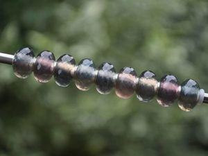 Натуральный разноцветный флюорит для Pandora и Trollbeads в наличии. Ярмарка Мастеров - ручная работа, handmade.