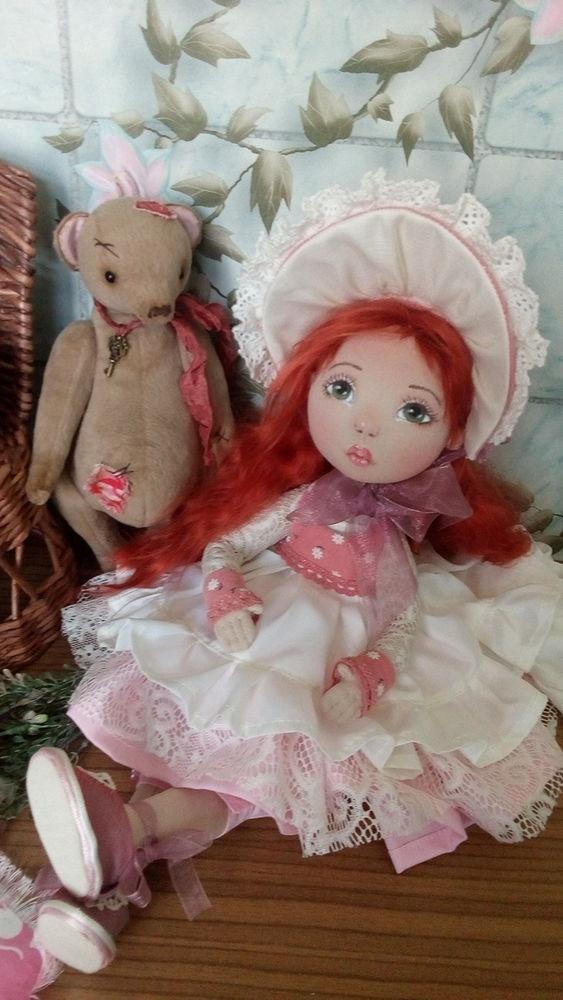 авторская работа, интерьерная кукла