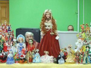 """Мои маленькие куклы  —  на Всероссийской акции """"Ночь искусств"""" в Чебоксарах. Ярмарка Мастеров - ручная работа, handmade."""