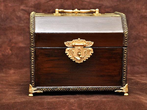 Мастерим ларец для свадебных даров в «царском» стиле | Ярмарка Мастеров - ручная работа, handmade