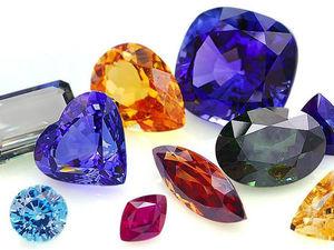 Какие камни мы используем? Часть 1- облагороженные.   Ярмарка Мастеров - ручная работа, handmade