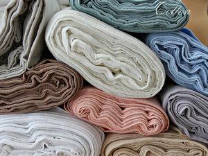 Видео и фото ткани Лён-марлевка. Ярмарка Мастеров - ручная работа, handmade.