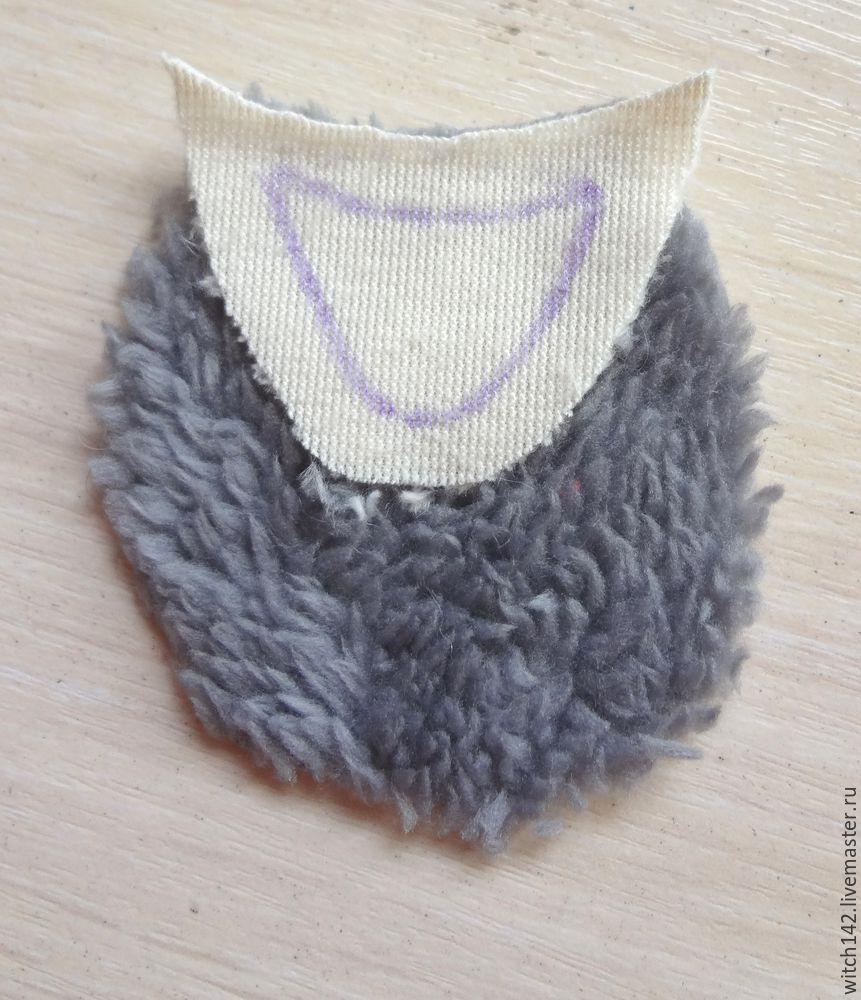 Мастер-класс: как сшить брелок в форме ёжика, фото № 4