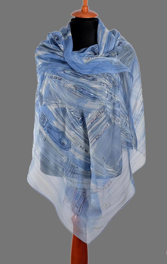 нарядный шарф