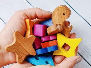 Этапы производства игрушки из дерева. Ярмарка Мастеров - ручная работа, handmade.