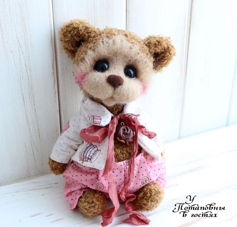 teddy bear, кекс