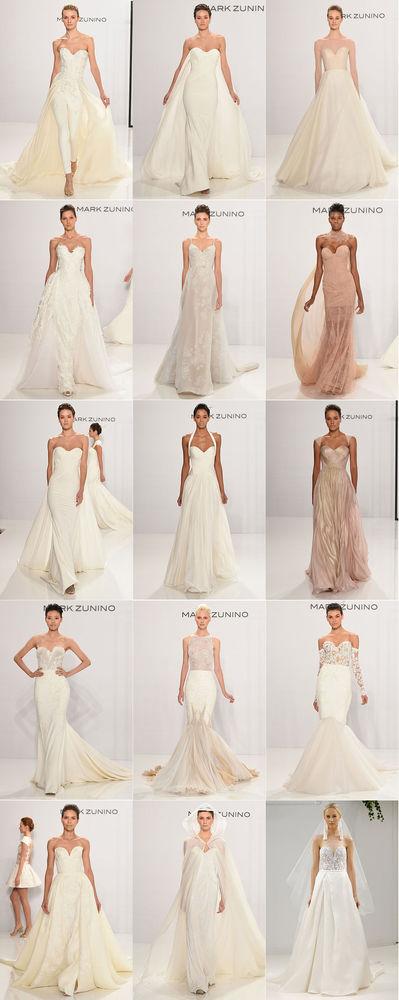 Неделя свадебной моды в Нью-Йорке: 100 лучших подвенечных платьев, фото № 3