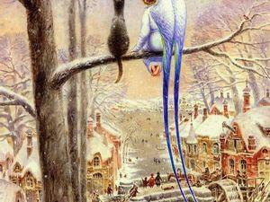 Кот и Ангел. Ярмарка Мастеров - ручная работа, handmade.