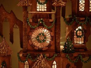 Пряничный готический замок от дизайнера Christine McConnell. Ярмарка Мастеров - ручная работа, handmade.