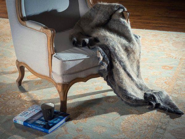 Одеяло из собачьей шерсти на зиму и домашний комфорт !!! | Ярмарка Мастеров - ручная работа, handmade