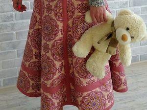 Новинка в моем магазине! Стеганый костюм из льна и хлопка.. Ярмарка Мастеров - ручная работа, handmade.
