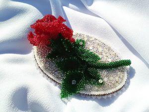Просмотр видео- Зимняя роза. Скидка 55% !. Ярмарка Мастеров - ручная работа, handmade.