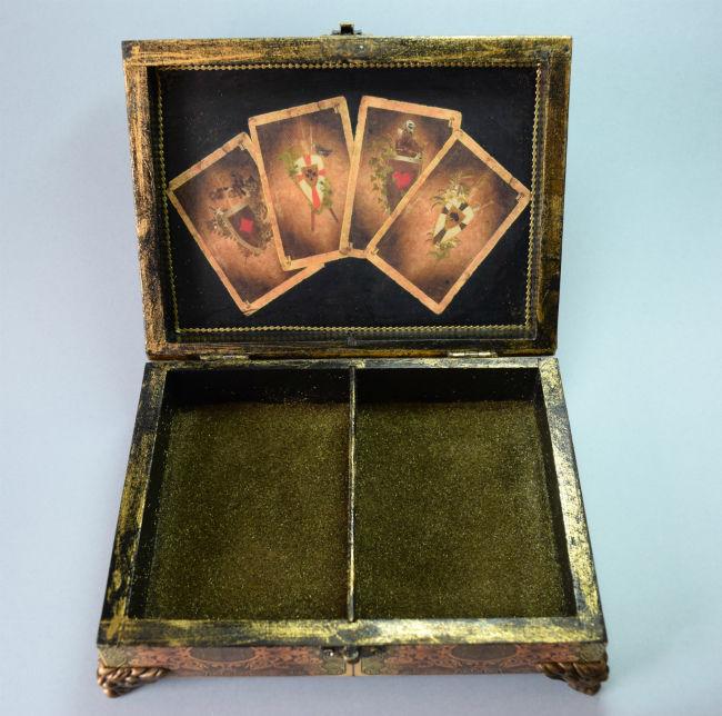 шкатулка для карт