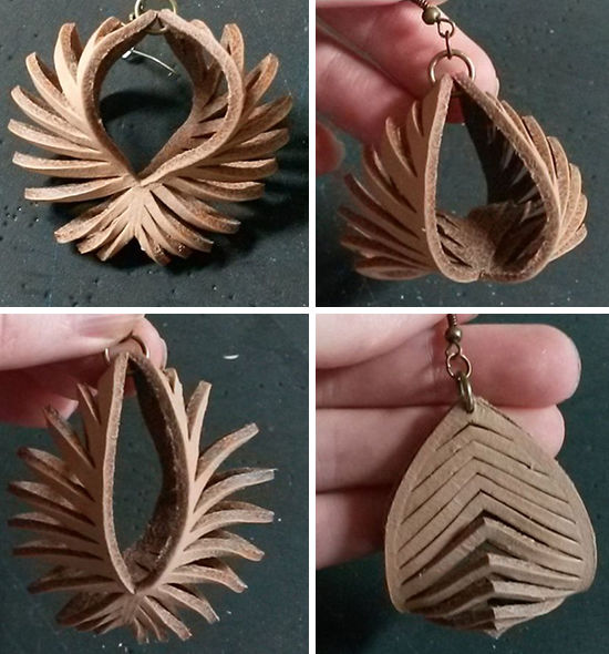 30 Simple Ideas for Design of Handmade Leather Jewelry, фото № 3