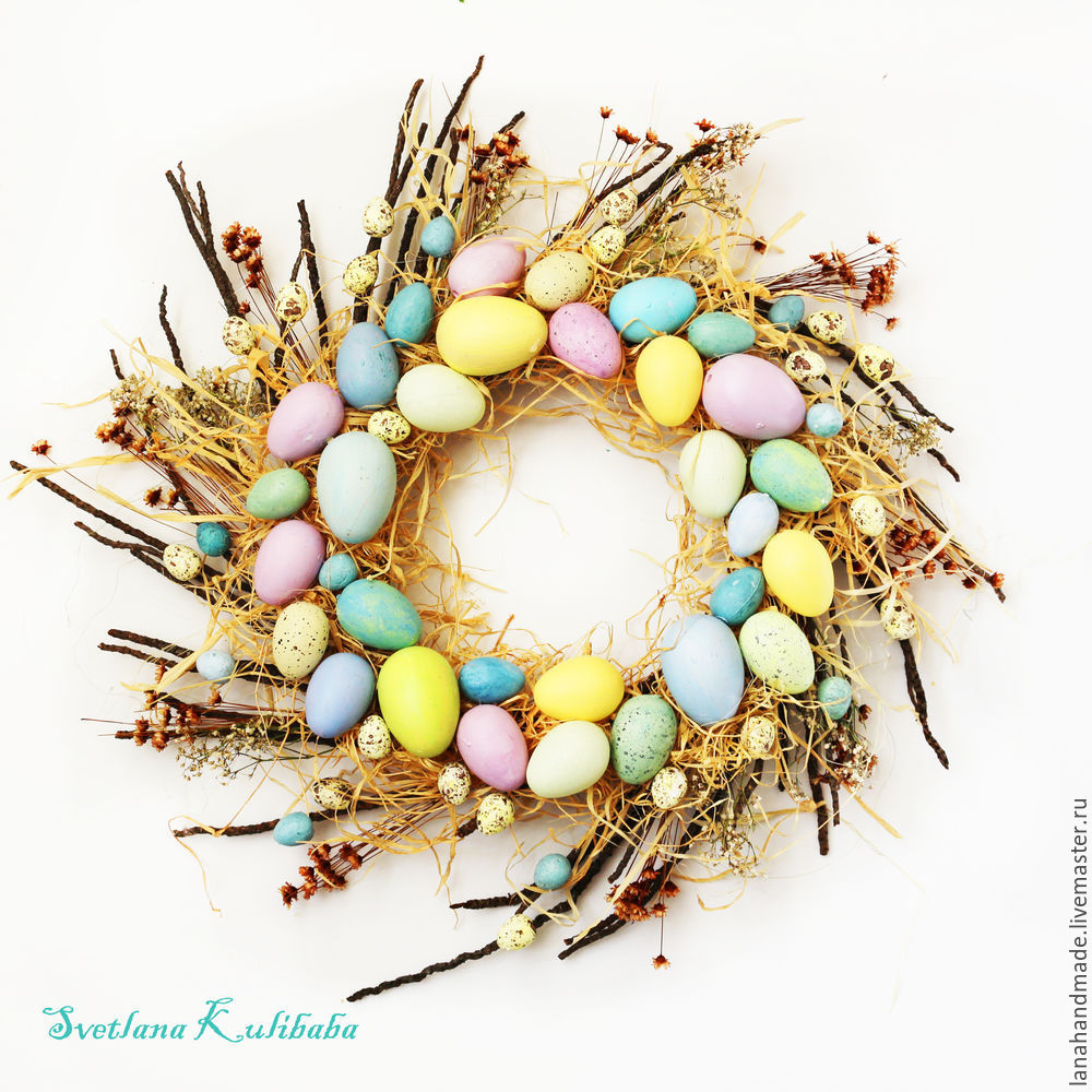 Create an Easter Wreath with Your Own Hands!, фото № 10