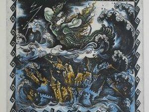 Легенда о Юрате и Каститисе | Ярмарка Мастеров - ручная работа, handmade