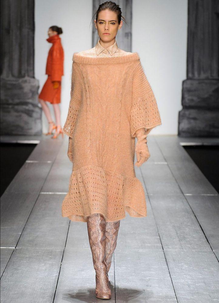 сейчас есть вязание платья от ведущих дизайнеров фото решили
