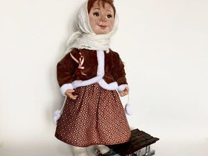 Аксессуары санки для куклы. Ярмарка Мастеров - ручная работа, handmade.