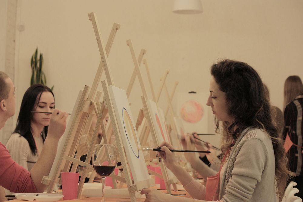 москва, живопись, рисование для начинающих