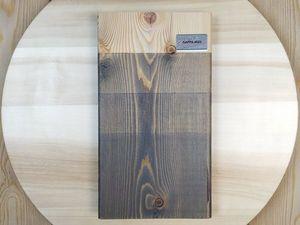 Видеокаталог цветных масел для дерева GAPPA 0020 (серый). Ярмарка Мастеров - ручная работа, handmade.