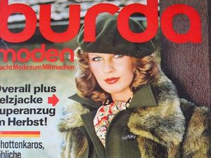 Burda moden 10/1975 Бурда Моден. Ярмарка Мастеров - ручная работа, handmade.